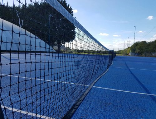 Lister Tennis Maintenance Update